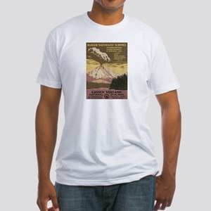 Mt. Lassen N.P. Fitted T-Shirt