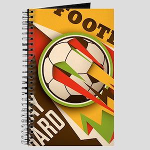 Fire Football Soccer Sport Ball Journal
