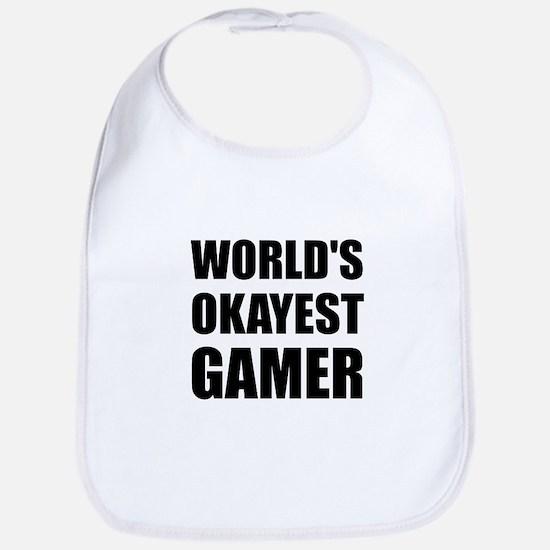 World's Okayest Gamer Bib
