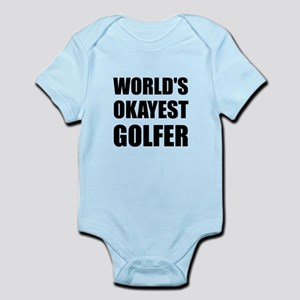 World's Okayest Golfer Body Suit