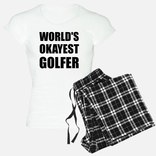 World's Okayest Golfer Pajamas