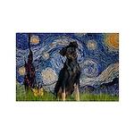 Starry / Min Pinscher Rectangle Magnet (10 pack)