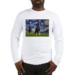 Starry / Min Pinscher Long Sleeve T-Shirt