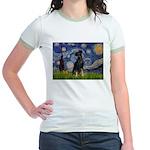Starry / Min Pinscher Jr. Ringer T-Shirt