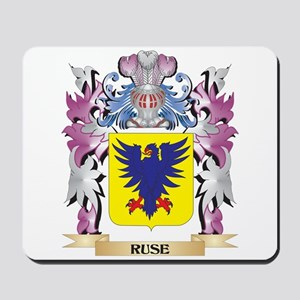 Ruse Coat of Arms - Family Crest Mousepad