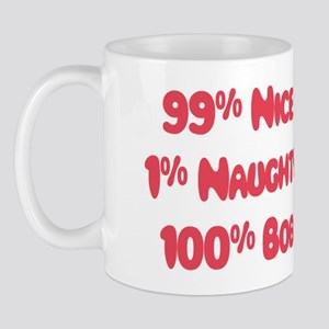 Bob - 1% Naughty Mug