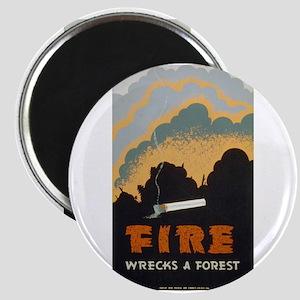 Fire Wrecks A Forest Magnet