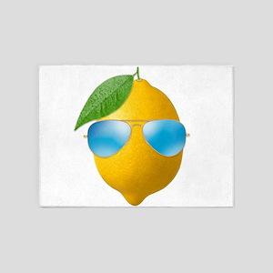 Cool Lemon 5'x7'Area Rug