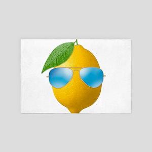Cool Lemon 4' x 6' Rug