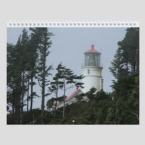 Oregon Lighthouse Wall Calendar