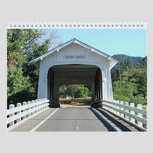Oregon Covered Bridges Wall Calendar