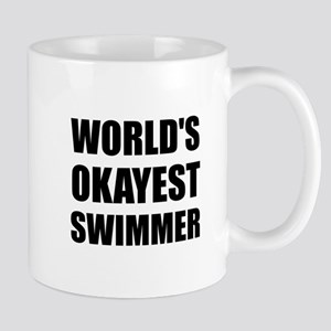 World's Okayest Swimmer Mugs