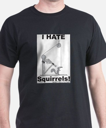 Squirrel Gun Ash Grey T-Shirt