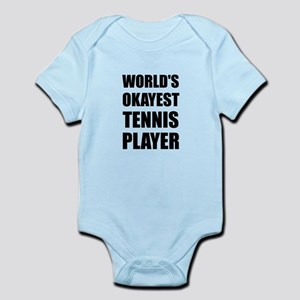 World's Okayest Tennis Player Body Suit