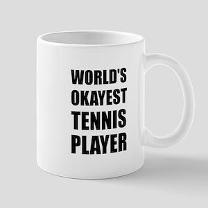 World's Okayest Tennis Player Mugs
