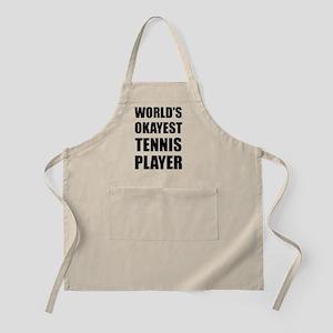 World's Okayest Tennis Player Apron