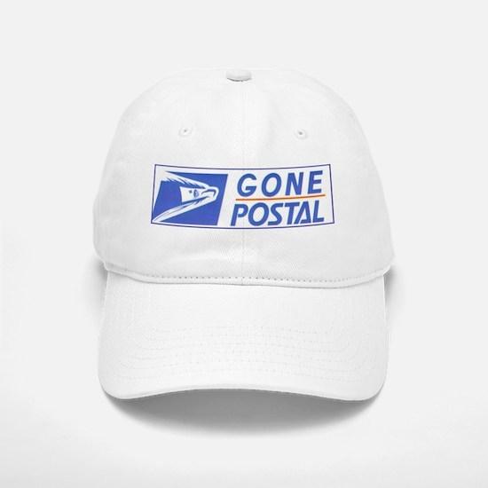 Gone Postal Baseball Baseball Cap