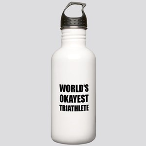 World's Okayest Triath Stainless Water Bottle 1.0L