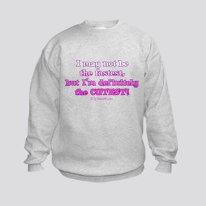 The Cutest Motocrosser Kids Sweatshirt