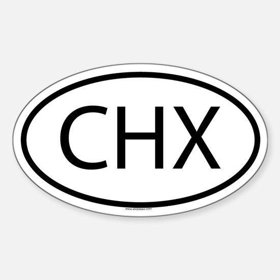 CHX Oval Decal