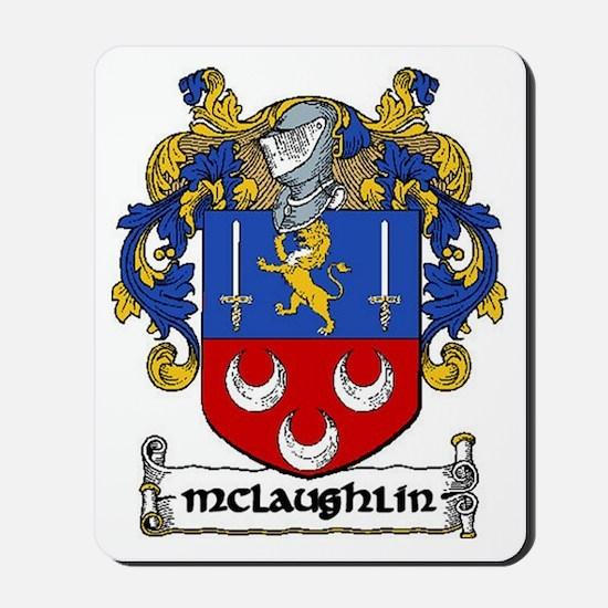McLaughlin Coat of Arms Mousepad