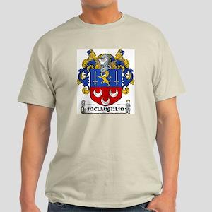 McLaughlin Coat of Arms Light T-Shirt
