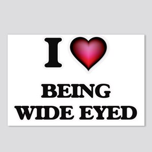 I love Being Wide-Eyed Postcards (Package of 8)