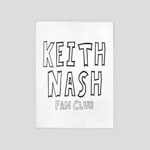 Chuck Nash Fan Club 5'x7'Area Rug