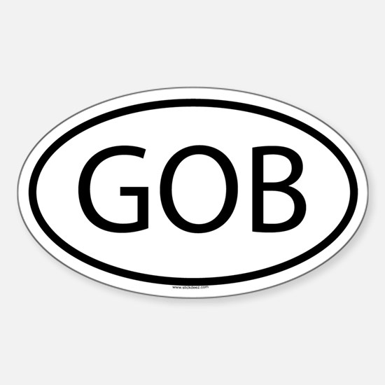 GOB Oval Decal