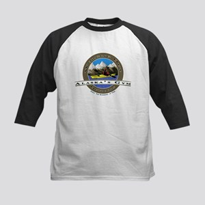 Alaska's Kayak Gym Kids Baseball Jersey