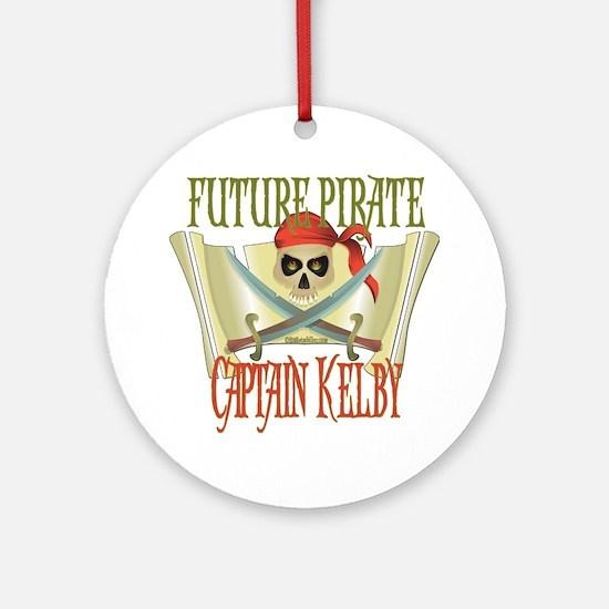 Captain Kelby Ornament (Round)