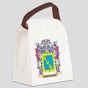 Sainsbury Coat of Arms - Family C Canvas Lunch Bag