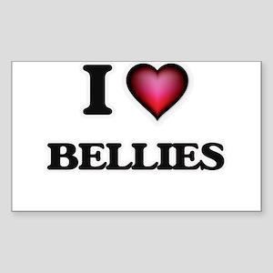 I Love Bellies Sticker