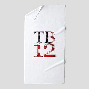 TB 12 Beach Towel