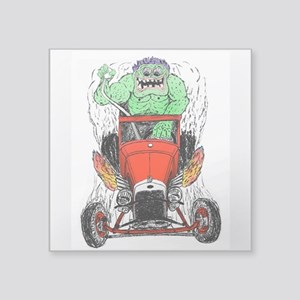 "THR Monster Square Sticker 3"" x 3"""