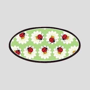 Ladybugs pattern Patch