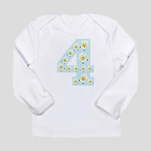 Kolarkub #4 in blue Long Sleeve T-Shirt