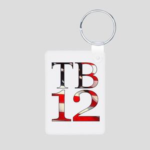 TB 12 Aluminum Photo Keychain