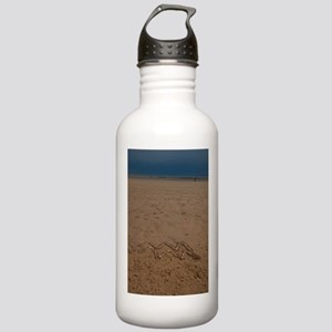 aquarius sign and stor Stainless Water Bottle 1.0L