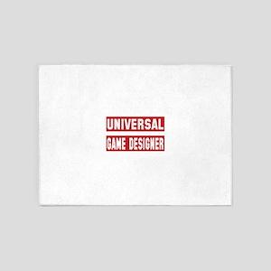 Universal Game designer 5'x7'Area Rug