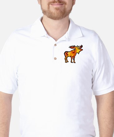 MOOSE Golf Shirt