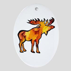 MOOSE Oval Ornament