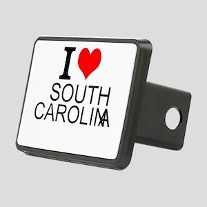 I Love South Carolina Hitch Cover