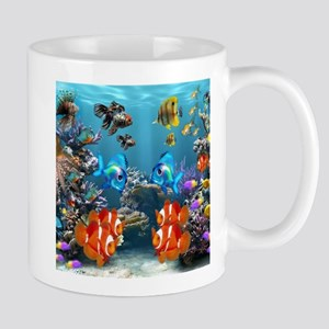 Aquarium Sealife Fish Mugs