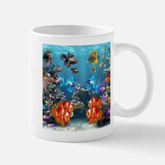 Aquarium Sealife Fish Mugs