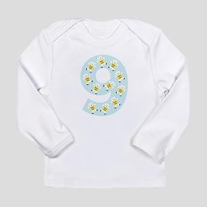 Kolarkub #9 in blue Long Sleeve T-Shirt