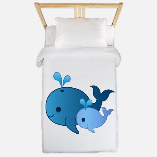 Baby Whale Twin Duvet