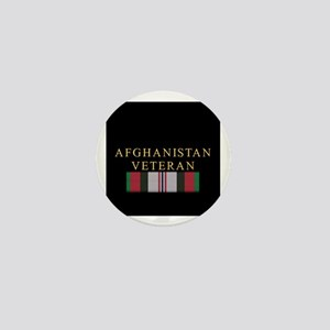 Afghanistan Veteran Mini Button
