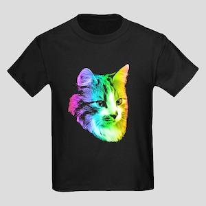 Rainbow Kitty Cat T-Shirt