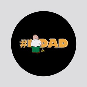 Family Guy #1 Dad Button